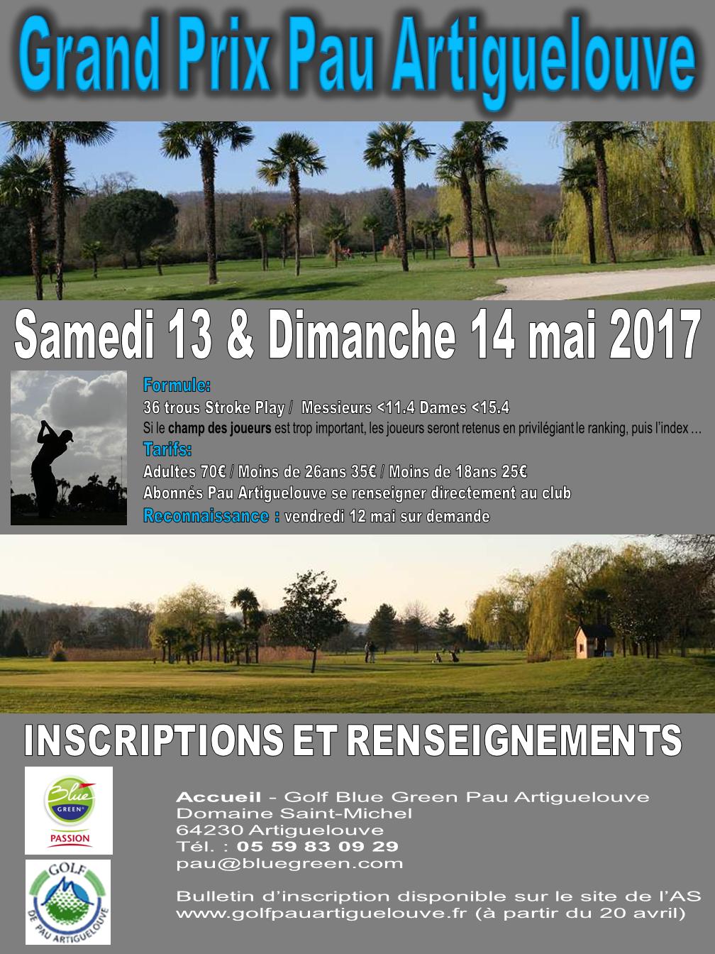 Accueil golf d 39 artiguelouve - Www le palet com competitions coupes bulletins d inscriptions ...